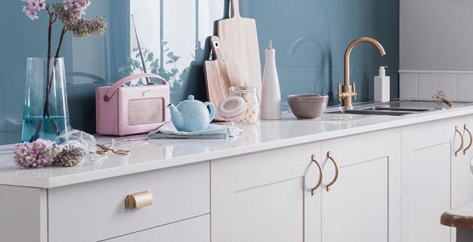 bespoke kitchens cornwall splash back