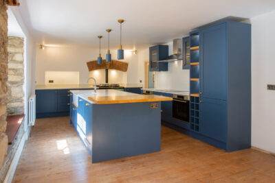 Hicks Blue Kitchen
