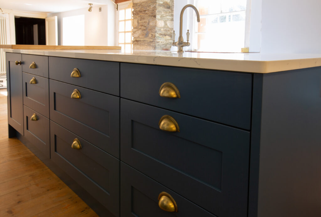 kitchen finishing touches with Ironbridge handles